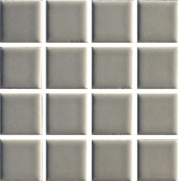 Waxman CG-120 Steel Grey - Ceramic Pool Tiles - 10 Sheet Pack